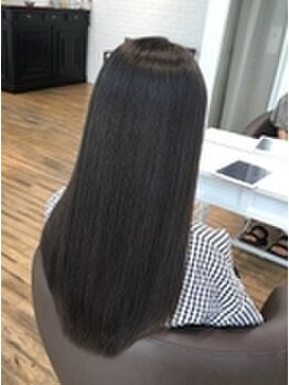 アンシークレット(Un Secret)の写真/【福山】綺麗に仕上げる技術力が凄い!髪が傷むことなく伸びてきても違和感のない自然な仕上がりに♪