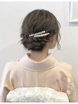 【roomRoom yuki】和装アップ・成人式、結婚式に◎