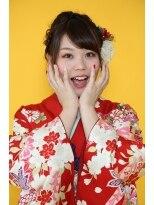 【着物】ポップキュートアレンジスタイル