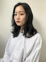 コクーン(Cocoon)【SHUN】チャコールグレージュミディ