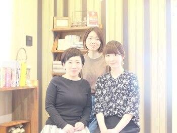 美容室アンバー(amber)の写真/【北上】同世代の主婦スタイリストだからこそ悩みを共有できる♪貴女のキレイを一緒に作っていきましょう。