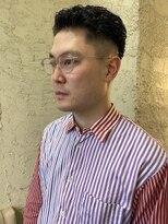 【penelope】廣重 洋平 直毛必見 フェードパーマスタイル