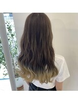 ネオヘアー 曳舟店(NEO Hair)ロングレイヤー×すそグラデーション