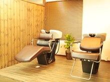 ヘアー デザイン アトリエ ニゴ(hair desing atelier 25)の雰囲気(足が伸ばせるシャンプー台もご用意☆)