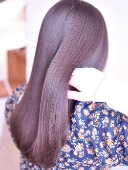 リリ(LILI)の写真/極上Tr《Aujua》取扱い店!気になる髪のダメージやお悩みを解決してくれるSalon★なめらかで艶のある髪へ―