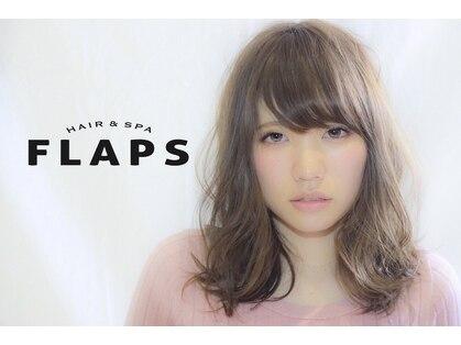ヘアーアンドスパ フラップス(FLAPS)の写真