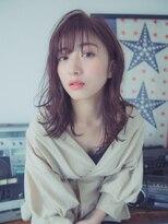 ブルームヘア 大宮(Bloom hair)暗髪色っぽセミディ