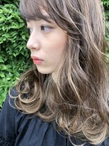 ラパンセジョーヌ(LA PENSEE JAUNE)【LA PENSEE】高透明感と束感ハイライトカラー×ケアブリーチ★