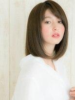 ヘアサロン ナノ(hair salon nano)思わず触れたくなる艶感☆シルキーストレート☆