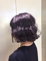 ヘアサロン ドット トウキョウ カラー 町田店(hair salon dot. tokyo color)【lavender blue12】ダブルカラーカラーリスト田中【町田】