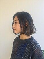 ヘアメイク オブジェ(hair make objet)お洒落ボブ