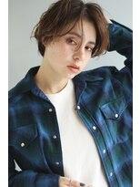 ヘアーアンドレイ エビス(hair.andrey EBISU)【andrey Ebisu】マッシュハンサムショート[junya]
