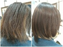 エイジングケア専門店 ジン 美容室(JIN)の雰囲気(うねりとダメージでボロボロな髪も艶髪エステで綺麗に改善)