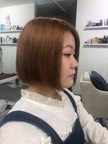 ビーヘアサロン(Beee hair salon)【渋谷エクステ・カラーBeee/安部 郁美】前髪エクステ