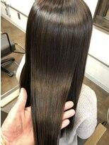 コレット ヘアー 大通(Colette hair)縮毛矯正×ラベージュ