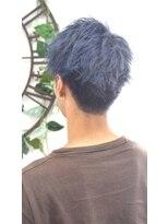 ヘアーサロン エール 原宿(hair salon ailes)(ailes原宿)style387 デザインカラー☆サファイアシルバー