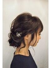 ヘアドゥ デ コントラクテ 宮の沢店(hair do Decontracte)ゆるっとアップ