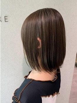 クロレ(CLORE)の写真/【大日】経験豊富なスタイリストがあなたの髪をチェンジ!!つい触りたくなるストレート美人をあなたに♪
