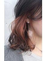 ◆ miel&melgina吉祥寺 ◆ インナーカラー/オレンジ
