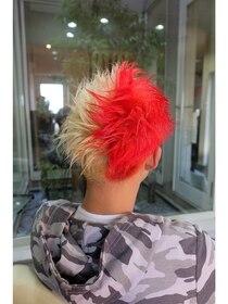 ガーデン ヘアー ワーク(garden hair work)RED & WHITE
