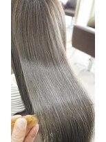 リリーズ ヘア(Lily's Hair)艶髪♪外国人風カラー♪アプリエ☆ブルーアッシュ