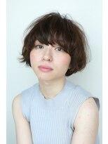 ヘアーサロン セル(Hair Salon CELL)マッシュショート マニッシュ 毛先パーマ スウィングショート