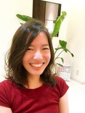 ブレッザヘアー(Brezza hair)柔らか質感デジタルパーマ×Brezza hair 笹塚