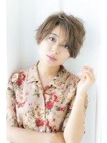 ログヘアー 大塚北口店(L.O.G hair)ラフカールショート【大塚/池袋/新大塚】