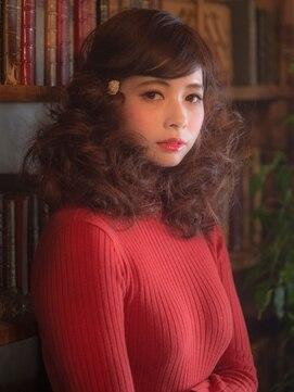 オーブ ヘアー ルル 京都四条通り店(AUBE HAIR lulu)レトロ感溢れる個性派ドーリーヘア