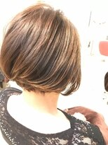 ヘアーリゾートラシックアールプラス(hair resort lachiq R+)《R+》白髪染めを使わない大人の艶グレイカラー