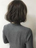 ルノン シェリー(LUNON cheliy)【LUNON cheliy】フェミニン×切りっぱなしボブパーマ