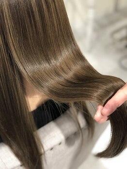 メル(Mell)の写真/【髪質改善専門店】全メニュー髪質改善◇美髪へ導くヘアケアを♪カラーや縮毛矯正を繰り返すほど綺麗に。