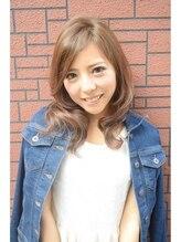 トップヘアー ベイエリア店(TOP HAIR)ミディアムラインの軽めスタイル