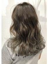 バベル(BABEL Hair Design)【BABEL】バレイヤージュグラデーション@大生真吾
