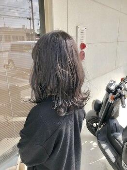 ヘアーララプラス(HAIR lala+)の写真/lala+のハーフテイストカラーで人気の【外国人カラー】が叶う☆やわらかく、透明感のあるツヤ&発色に☆