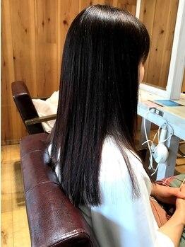 ミライ(mirai)の写真/一人一人の髪質やお悩みに合わせて提案♪くせ毛、うねり等を改善し、髪の芯から補修して扱いやすい髪へ☆