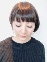 ヴィコロ(vicolo)前髪パッツンショート