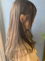 クブヘアー(kubu hair)サマーカラーロングスタイル