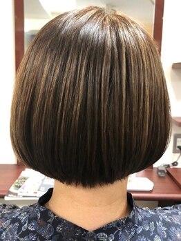 ベース 美容室BASEの写真/【大宮駅西口5分】お肌が弱い方、髪の傷みでお困りの方へ。肌と髪に優しいCTFカラー、お茶カラーのご用意◎