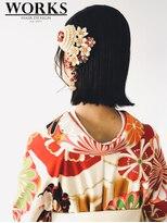 ワークス ヘアデザイン(WORKS HAIR DESIGN)卒業式袴ヘアセット