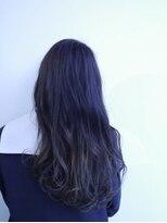ヘアメイク オブジェ(hair make objet)アッシュグラデーション