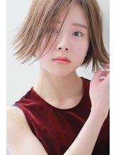 ヘアーアンジェ ノーブル 元住吉店(Hair ange noble)【Hair ange noble】☆外ハネ×グレージュ×デザインカラー☆