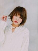 外国人風イルミナ系リラックスボブby premier models☆