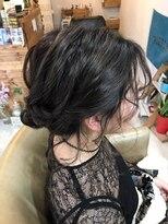ルーナ ヘアラウンジ(Luuna hair lounge)後れ毛アレンジ