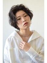 【soy-kufu】アップ前髪のショートスタイル