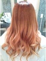 ヘアーグランデシーク(Hair Grande Seeek)パールピンクグラデーションcolor