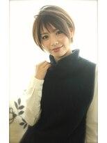 アンヘアー アリーズ(UN hair Ally's)顔周りで決まる☆大人可愛いショートスタイル