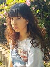 ヘアーメイク カレント(Hair make Current)外国人風ガーリーロング