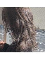 ガーデンヘアー(Garden hair)[松岡]透明感ハイライトグレージュ