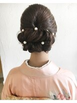 LiLy hair design ~ 和装ヘアセット